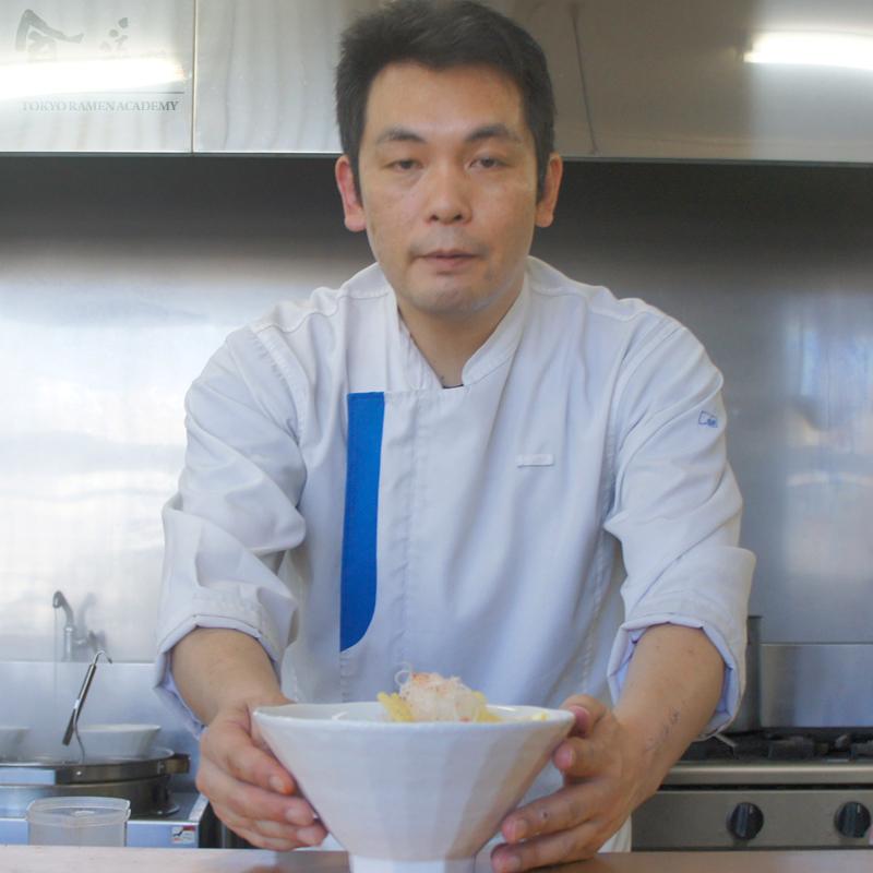 食の道場 82期 星さん 卒業ラーメン 赤い鶏パイタン~トマトより愛をこめて~ 006